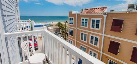 Seaside Amelia Inn Amelia Island FL Pool View Suite (4) Featured Image