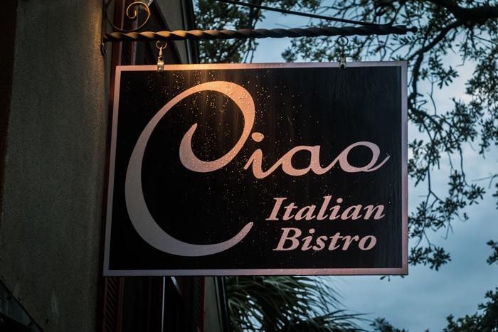 ciao italian bistro amelia island fl