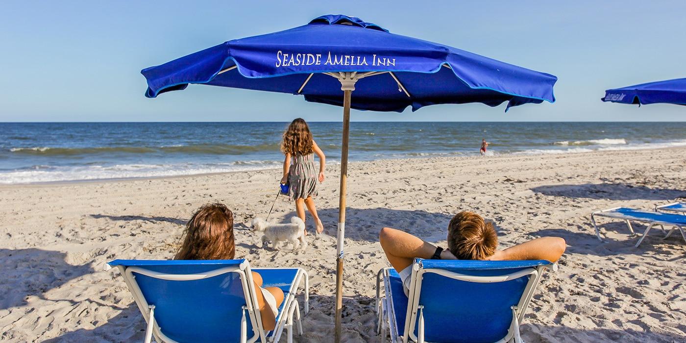 Beach Chair Rental | Seaside Amelia Inn | Amelia Island FL