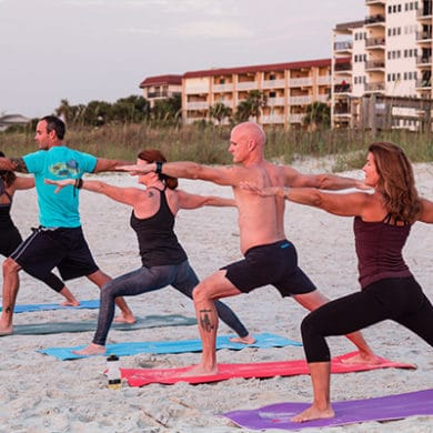 Seaside Yoga | Seaside Amelia Inn | Amelia Island FL
